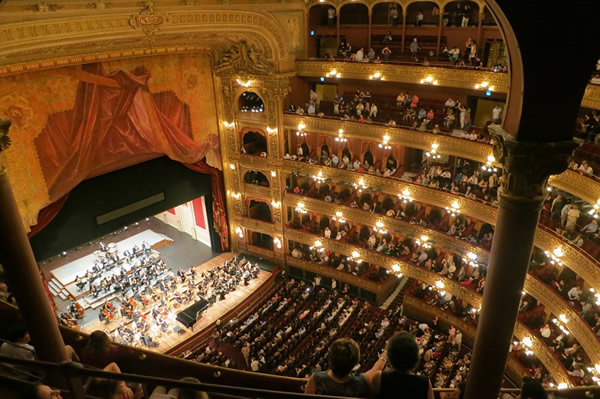 The Teatro Colón opera in Buenos Aires is extremely popular