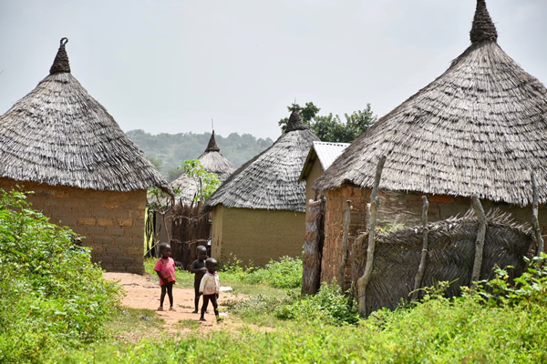 typical village in Northern Cameroon