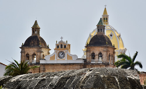 Church towers of Cartagena