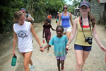 Community service and learning abroad