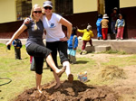 Globeaware volunteers in Peru