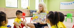 Teaching children with Gold Star TEFL Recruitment