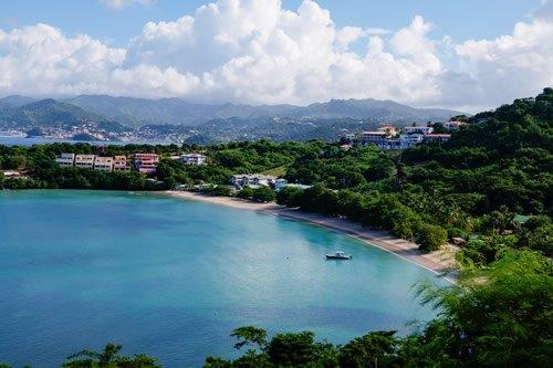 Morne Rouge beach in Grenada