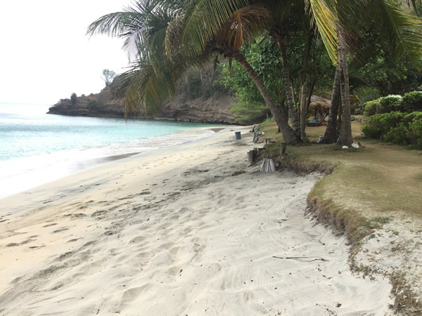 Living in Grenada: A Sandy Beach