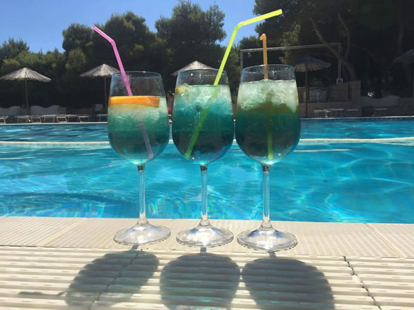 Aperitivo by the pool