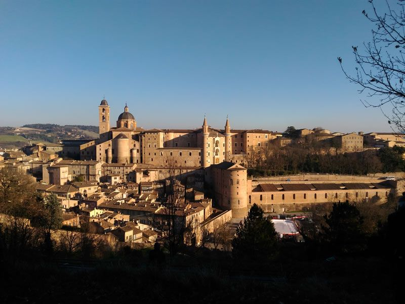 Urbino, Italy the Palazzo Ducale