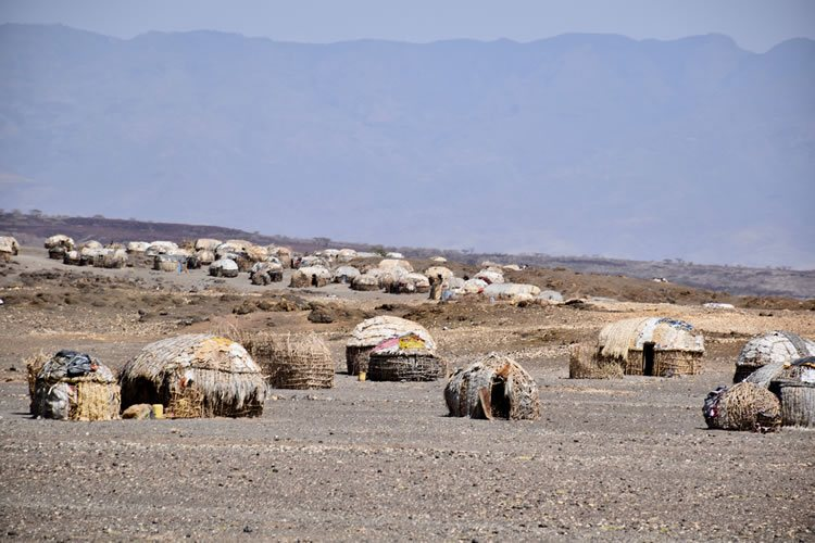 Turkana settlement