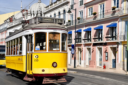 Lisbon has six historic tram lines still in use