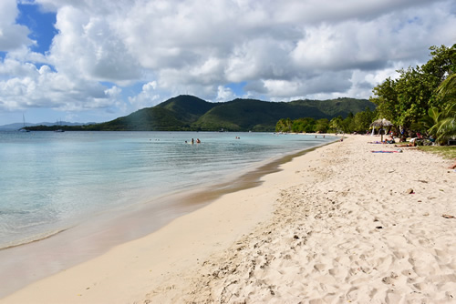 Beach of Sainte Anne
