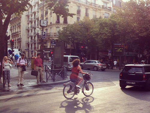 Biking around Paris is a great way to see and feel the city.