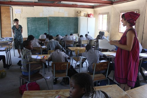 Volunteer abroad teaching in Namibia with Worldteach