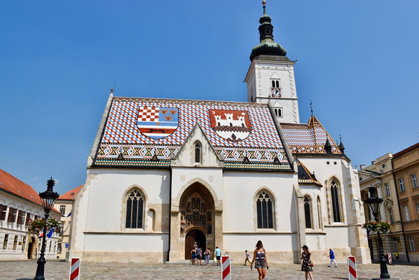 St. Marks church in Zagreb