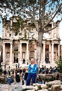 Alison Gardner in Turkey