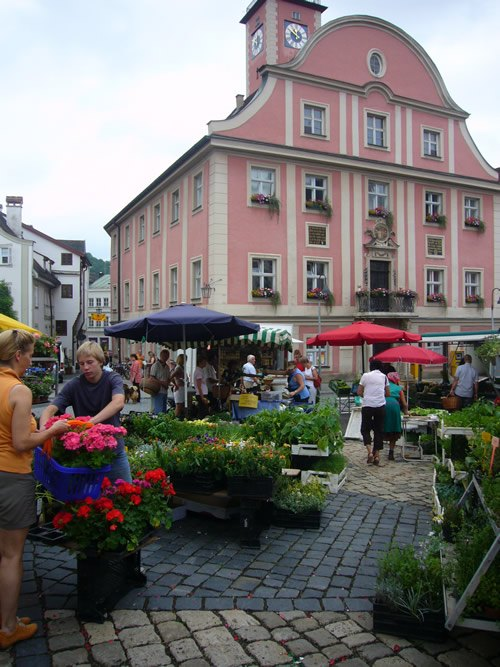 Market in Eichst�tt, Germany
