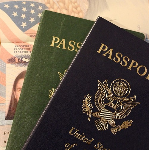 U.S. passport held by citizen