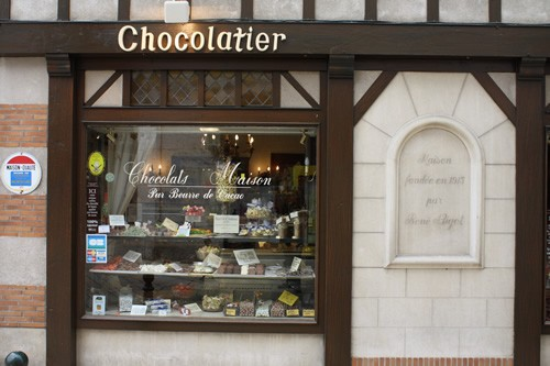 Chocolatier in France