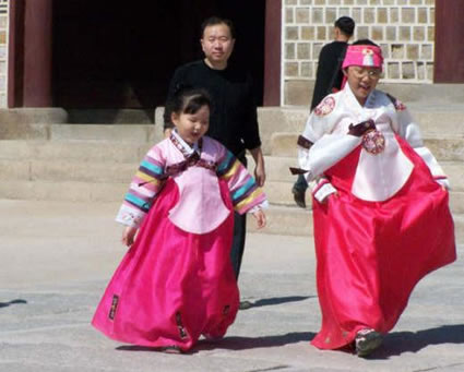 Traditional Dress in Korea