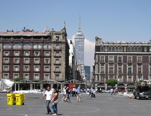Mexico City old and new