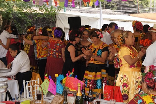 A party in Mexico City