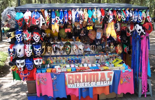 Magic masks in Mexico