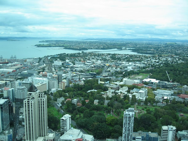 View of Auckland City.