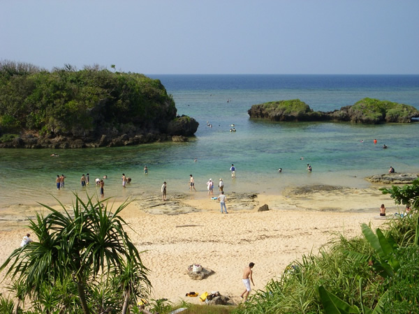 Beach in Okinawa, Japan