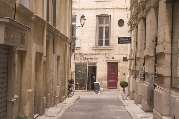 Boulangerie in Montpellier in the south of France