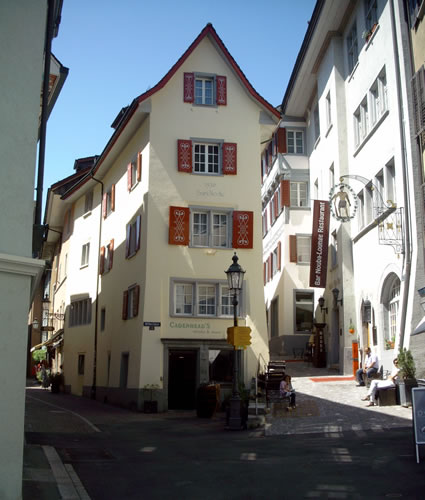 Old Town Baden, Switzerland.