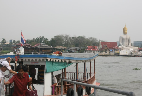 The boat to Koh Kret Island, Bangkok
