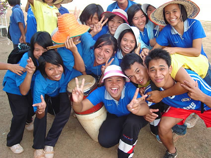 Students in Thailand
