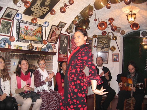Flamenco Dancer in Andalucia
