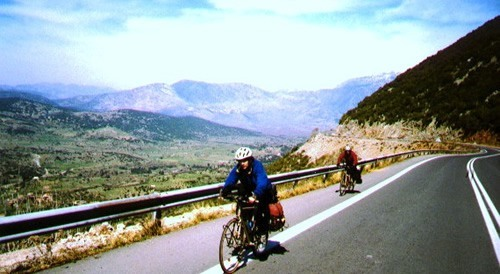 Bike adventure from 'How Travel Can Change the World'