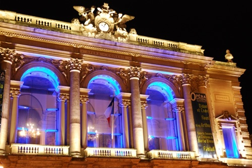Opera House in Montpellier