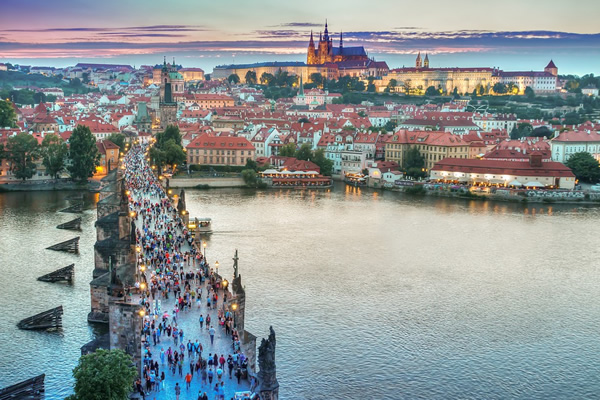 Go abroad and see Prague as a student