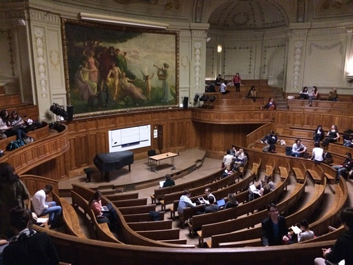 Richelieu Auditorium Sorbonne, University of Paris
