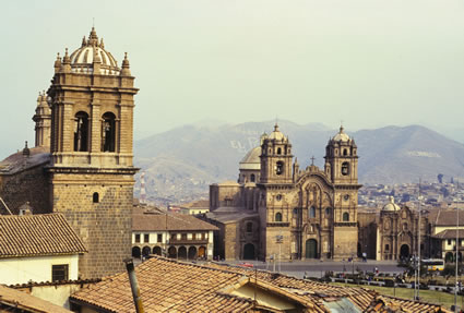 Churches in Cuzco, Peru