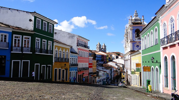 Salvador, Brazil is a beautiful town in Brazil to study Portuguese