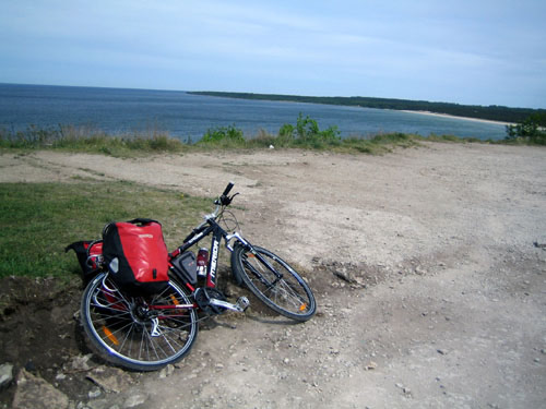 Biking in Estonia in the Baltics