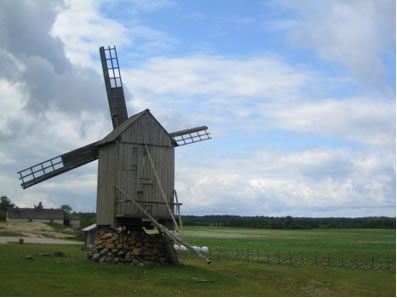 A windmill in Estonia