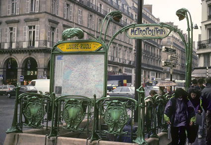 Subways in Paris