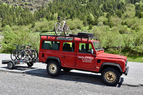 Jeep bringing mountain bikes to the Ordino Valley track