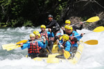 White-water rafting in Andorra