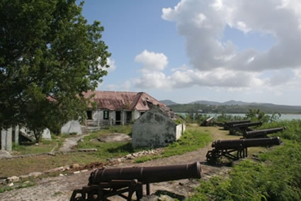Fort James, Antigua.