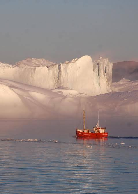 Fishing boat in Greenland.