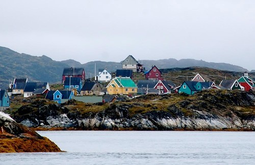 Town in Greenland.