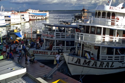 Manaus in the Amazon