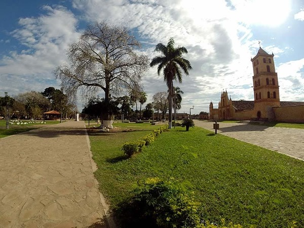 Jesuit Mission San Jose de Chiquitos in Bolivia