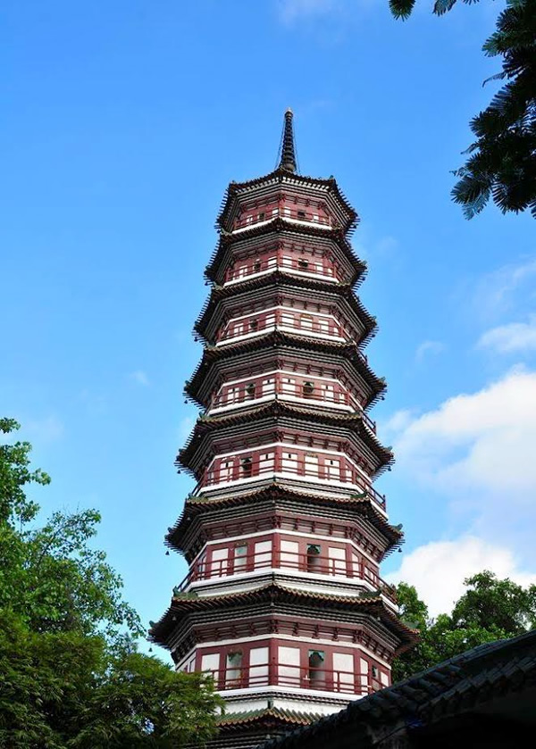 Pagoda of the Six Banyan Trees
