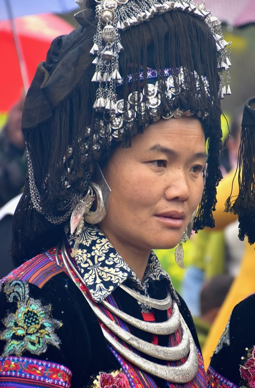Black Miao woman