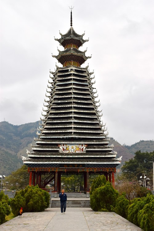 A Dong drum tower